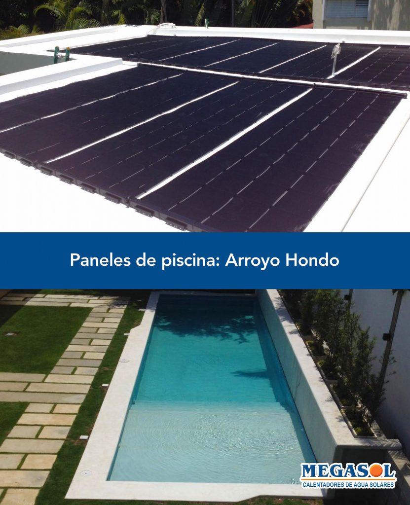 Piscina arroyo hondo megasol - Calentadores solares para piscinas ...
